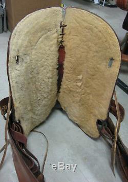 13.5 Used Colorado Saddlery Western Balanced Ride Saddle 3-1348