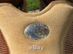 13 BILLY ROYAL Kids/Youth Western Show Horse Saddle