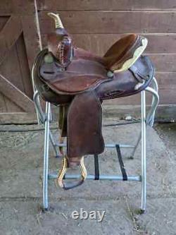 13 Sunny Bart SBS Western Saddle