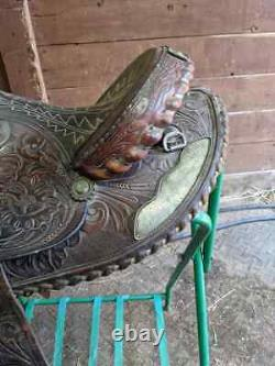 14.5 Simco Arabian Western Saddle