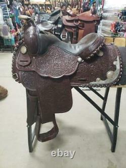 14.5 Used Billy Royal Western Show Saddle 170-661
