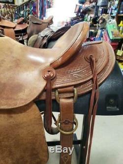 14.5 Used McCall Saddlery Lady Wade Western Saddle 215-902