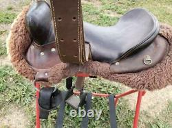 14.5 Used No Name Western Trail Saddle 230-945