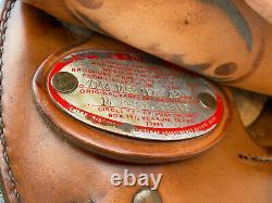 14 CIRCLE Y Western Barrel Horse Saddle NICE