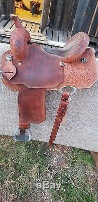 14 Corriente Barrel Saddle
