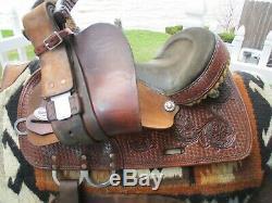14'' Reinsman western barrel saddle SQHB