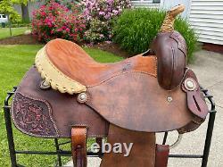 14 Saddlesmith Of Texas Western Barrel Saddle