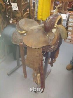 14 Tex Tan Western Saddle