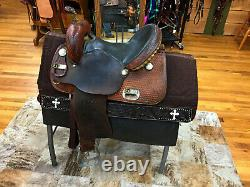 14 Tex-tan Trophy Western Barrel Racing Saddle
