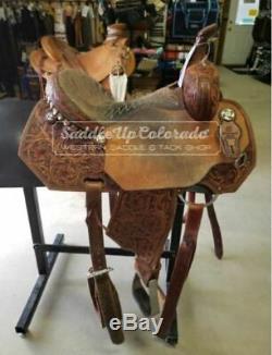 14 Used Charmayne James by Reinsman Western Barrel Saddle 2-1109