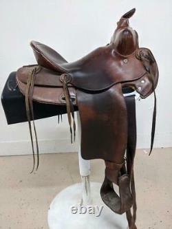 14 Used Wofford Western Ranch Saddle 439-2739