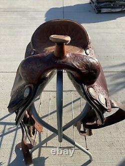 15.5 Maverick By Longhorn Western Pleasure / Trail Saddle