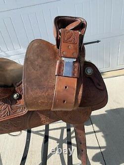 15.5 Original Billy Cook Western Pleasure / Trail Saddle