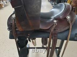 15.5 Used Cashel Western Trail Saddle 2-1239