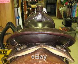 15.5 Used Circle Y Western Arab Trail Saddle 3-1279-5