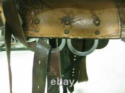 15.5 Used Circle Y Western Show Saddle 178-673