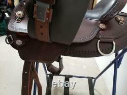15.5 Used Circle Y Western Trail Saddle 319-1655