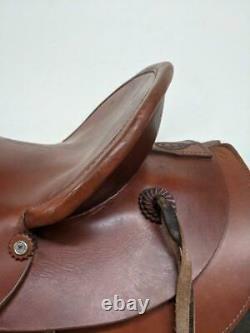 15.5 Used Colorado Saddlery Western Ranch Saddle 390-2278