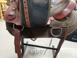 15.5 Used Fabtron Western Draft Saddle 2-1197