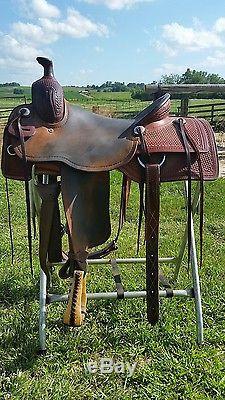 15 5 Ranch Cutter Saddle