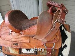 15'' #640.5 CIRCLE A AMERICAN SADDLERY TRAILS FOR ALL western saddle QH bars
