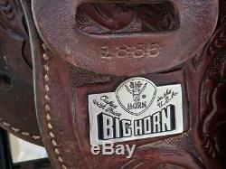 15 BIG HORN Western Horse Barrel Racing Saddle Model #1880