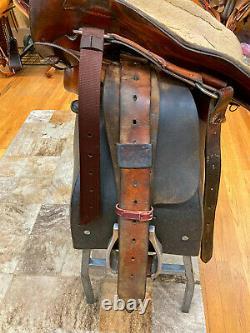 15 Big Horn Western Roping Saddle