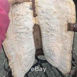15 Big Horn Western barrel saddle