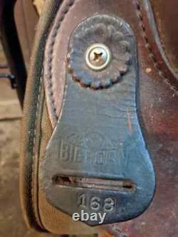 15 Bighorn Western Saddle
