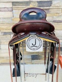 15 Circle Y Flex-Lite Hornless Endurance/Trail Saddle- Western Saddle 22lbs