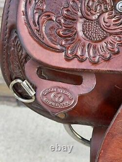 15 Circle Y Park And Trail Saddle, Western Saddle, Clean