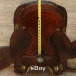 15 Circle Y Proven Barrel Saddle