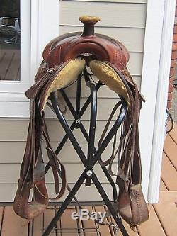 15 Fallis Balanced Western Saddle