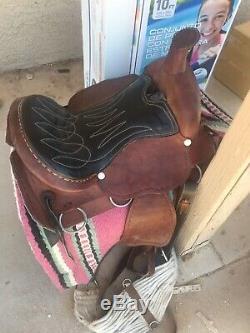 15 Inch Western Saddle
