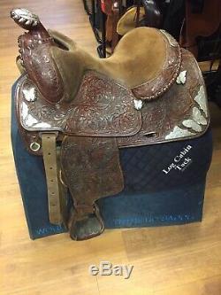 15 Kathys Custom Silver Western Show Saddle
