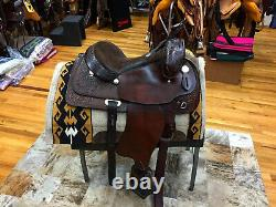 15 Simco John Lyons Western Pleasure/trail Saddle