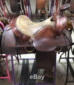 15 Simco Roping Saddle