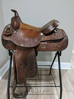 15 Tex Tan Hereford Western Trail Saddle