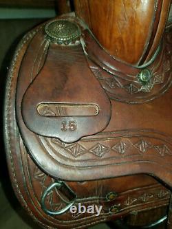15 Textan western saddle