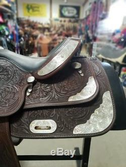 15 Used Billy Cook Western Show Saddle 3-1362-1