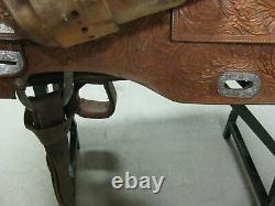 15 Used Broken Horn Western Show Saddle 3-1288