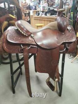 15 Used Circle Y Western All-Around Saddle 318-1654