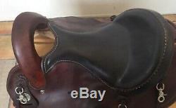 15 Used Crates Western Endurance Saddle Good Condition #2180