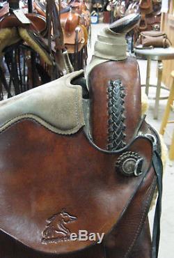 15 Used Synergist Western Trail Saddle 2-1037