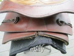 15'' Vintage #963 Bear Trap Roper Western Saddle Fqhb 35lb#