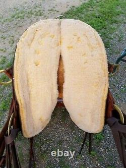 15 Western Endurance Saddle By Big Horn /Double R