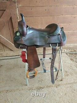 16.5 Billy Cook Western Saddle