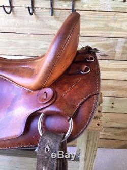 16.5 Custom Kuda Gaited Leather Flex Trail Paso Fino Horse Saddle Made in USA