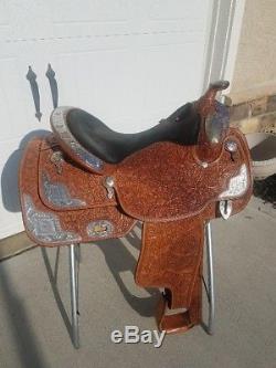 16.5 Dale Chavez Custom Show Saddle, Nice