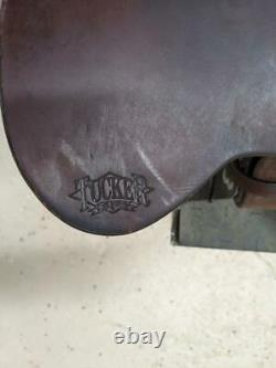 16.5 Used Tucker Western Endurance Saddle 444-2750